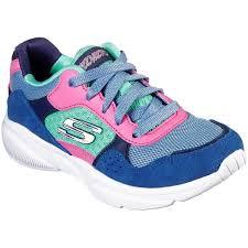 Skechers Meridian Charted Gril Dad Sneaker Blue Multi