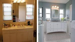 bathroom remodel pictures before and after. Simple And Small Bathroom Remodels Before And After Indoor Inside Remodel Pictures And M