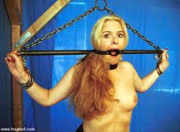 Paige white in bondage
