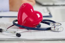 How To Read Cardiogram Chart Read Heart And Stethoscope Laying On Cardiogram Chart At Doctors
