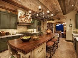Spanish Style Kitchen Decor Excellent Spanish Kitchen Decor Idea With Wrought Iron Chandelier