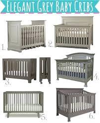 elegant baby furniture. Modern Style Baby Cribs Elegant Neutral Grey Furniture F