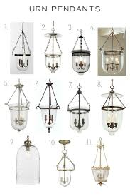 urn pendant lamp pendant design ideas