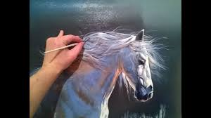 horse painting how to paint hyperrealistic