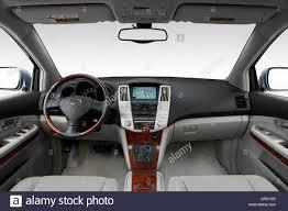 lexus rx 350 blue. 2007 lexus rx 350 in blue - dashboard, center console, gear shifter view rx