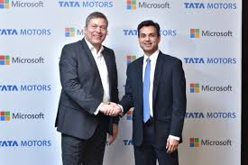 Tata Motors And Microsoft India Collaborate To Redefine The
