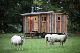 Small Picture This tiny shepherds hut is a vacation rental in the UK filled