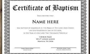 Sample Baptism Certificate Template Stunning Baptism Certificate Wording Baptism Certificate 48 Free Samples