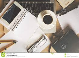 items for office desk. Download Office Desk With Items Stock Image. Image Of Message - 92321511 For
