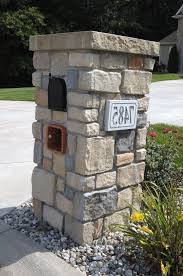 unique residential mailboxes. New Design: Custom Residential Mailboxes Luxury Stoned Mailbox With Engraved Address Block Baugo Creek Cut Unique B