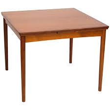 Flip Furniture Mid Century Teak Flip Top Dining Or Game Table Poul Hundevad At