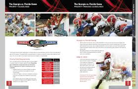 Georgia Bulldogs 2014 Pamphlet
