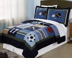 Bedroom:Cool Sport Themes Bed Sheets For Boys Bedroom Sets Plus White  Window Curtains Also