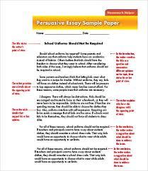 Argument And Persuasion Essay Examples Argument Essay Sample Thesis Surfingmadonna Org