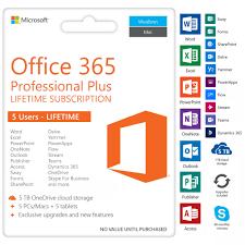 Microsoft Office 365 Professional Plus Lifetime Product Key