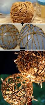 unique outdoor lighting ideas. 24 unique beautiful diy garden lanterns 9 twine and balloons creating a rather surprising lighting ideasoutdoor outdoor ideas