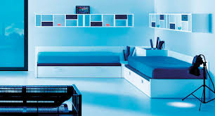 Modern Bedroom Blue Bedroom Fascinating Decorating Ideas With Bright Paint Colors For