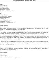 Sample Medical Resume Cover Letter Resume Cover Letter Applying For Records Clerk Records Specialist