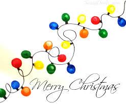 Christmas Lights Fingerprint Christmas Light Craft For Kids Diy Christmas Card