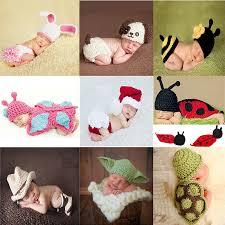 New Knitting Baby Hat <b>Newborn Photography Props Cute</b> ...