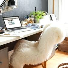furry desk chair cover furry office chair cover