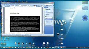 How To Write A Business Letter Useing Microsoft Word Youtube