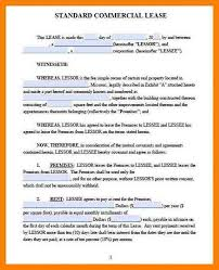 Lease Contract Sample 5 Lease Contract Templates For Restaurant Cafe Bakery Pdf Doc