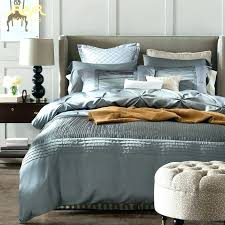 king linen duvet covers linen duvet cover modern luxury silk bedding set king queen size quality