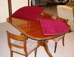 Table Pads For Dining Room Tables Dining Table Contemporary Dining Room Decoration Using