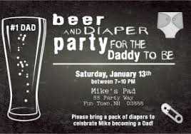 Diaper Shower Invitation Beer And Diaper Party Invite Template Beer And Diaper Baby Shower