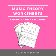 Music theory Worksheets | Homeschooldressage.com