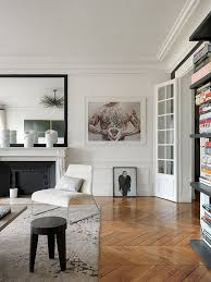 Small Changes Have Made A Big Difference In This Parisianstyle Parisian Style Living Room