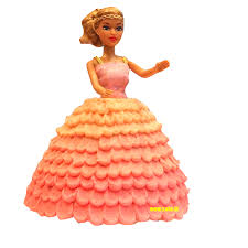 Cute Barbie Doll Cake 33lbs Wwwcakelk