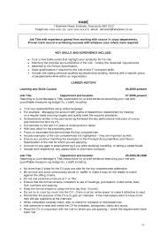 Sample Resume With Key Accomplishments Archives Circlewriter Com