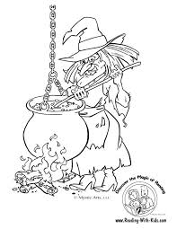 Small Picture Halloween Witch Coloring Pages Wiches Coloring In Adult Coloring