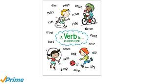 Ver Chart Amazon Com Anchor Chart Verb 0078073233786 Scholastic Books