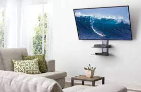 when you mount a tv where do the