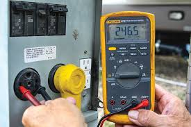 power trip 101 the easiest way to test for correct 50 amp service is to use a voltmeter