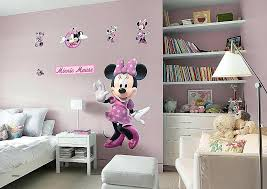 minnie mouse wall decals wall decalickey wall decals new mickey mouse wall decor unique and