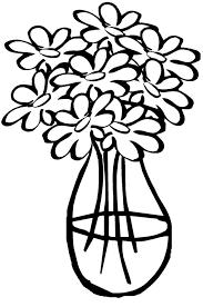 Stampabile Disegno Vaso Di Fiori Da Colorare Disegni Da Colorare