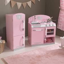Retro Kitchen Pink Retro Play Kitchen Refrigerator