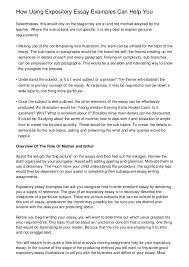 Define Expository Essay How To Write An Expository Essay Examples Of A Expository