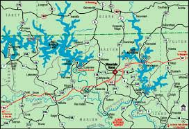 peel real estate mountain home, ar; flippin, ar; yellville, ar White River Arkansas Map located just north of yellville, ar and south of branson, mo white river and buffalo white river arkansas map app