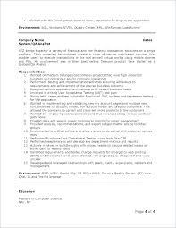 Quality Control Analyst Resumes Telecom Analyst Sample Resume Ha