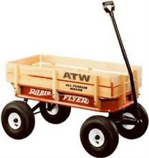 Details About Radio Flyer All Terrain Steel And Wood Wagon No 32 Radio Flyer Inc