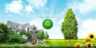 landscaping templates free landscape design video gallery template best website templates