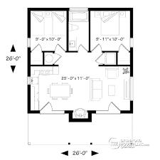 3 Bedroom Open Floor House Plans Simple Design