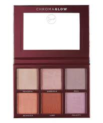 chroma glow shimmer highlight palette bysigma beauty free uk shipping