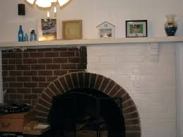 painted brick fireplace white painted brick fireplace with white red color curved brick stone fireplace having painted brick fireplace white