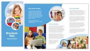 tri fold school brochure template school brochure template tri fold brochure templates lola cavanagh